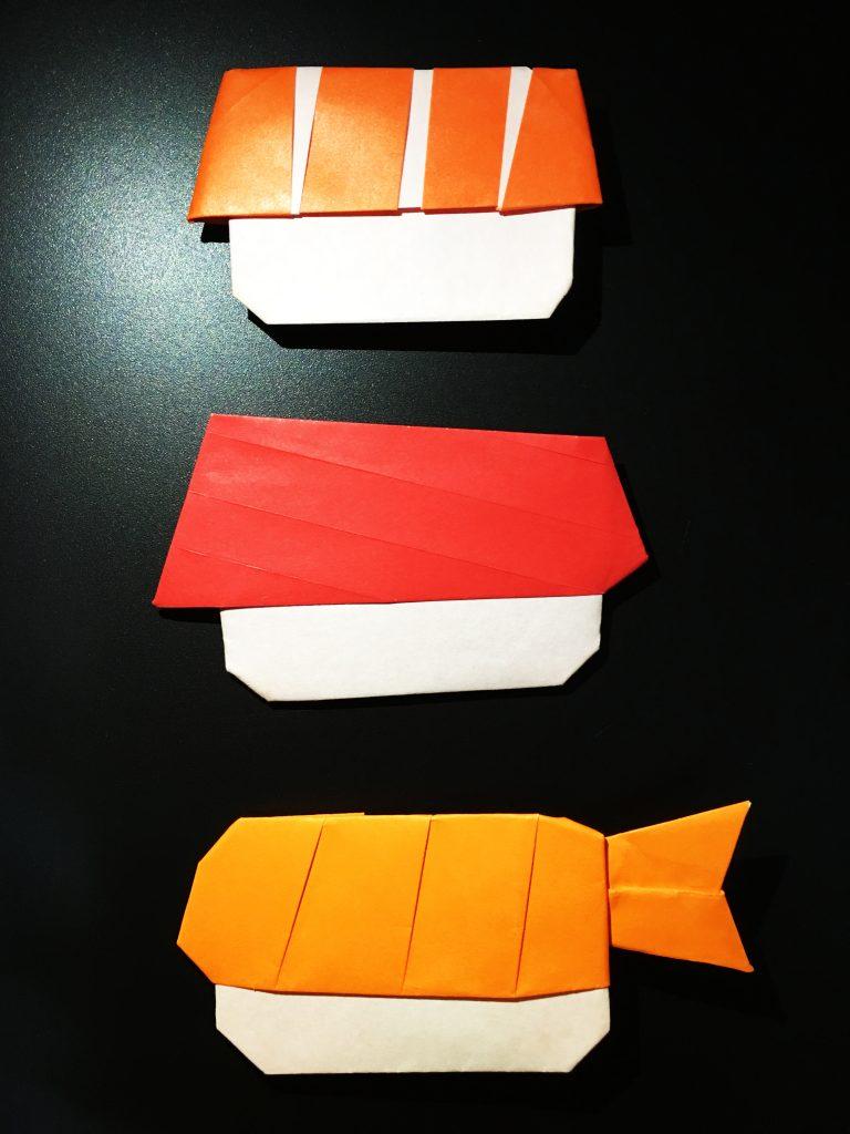 Origami Sushi Design Ryan Dong