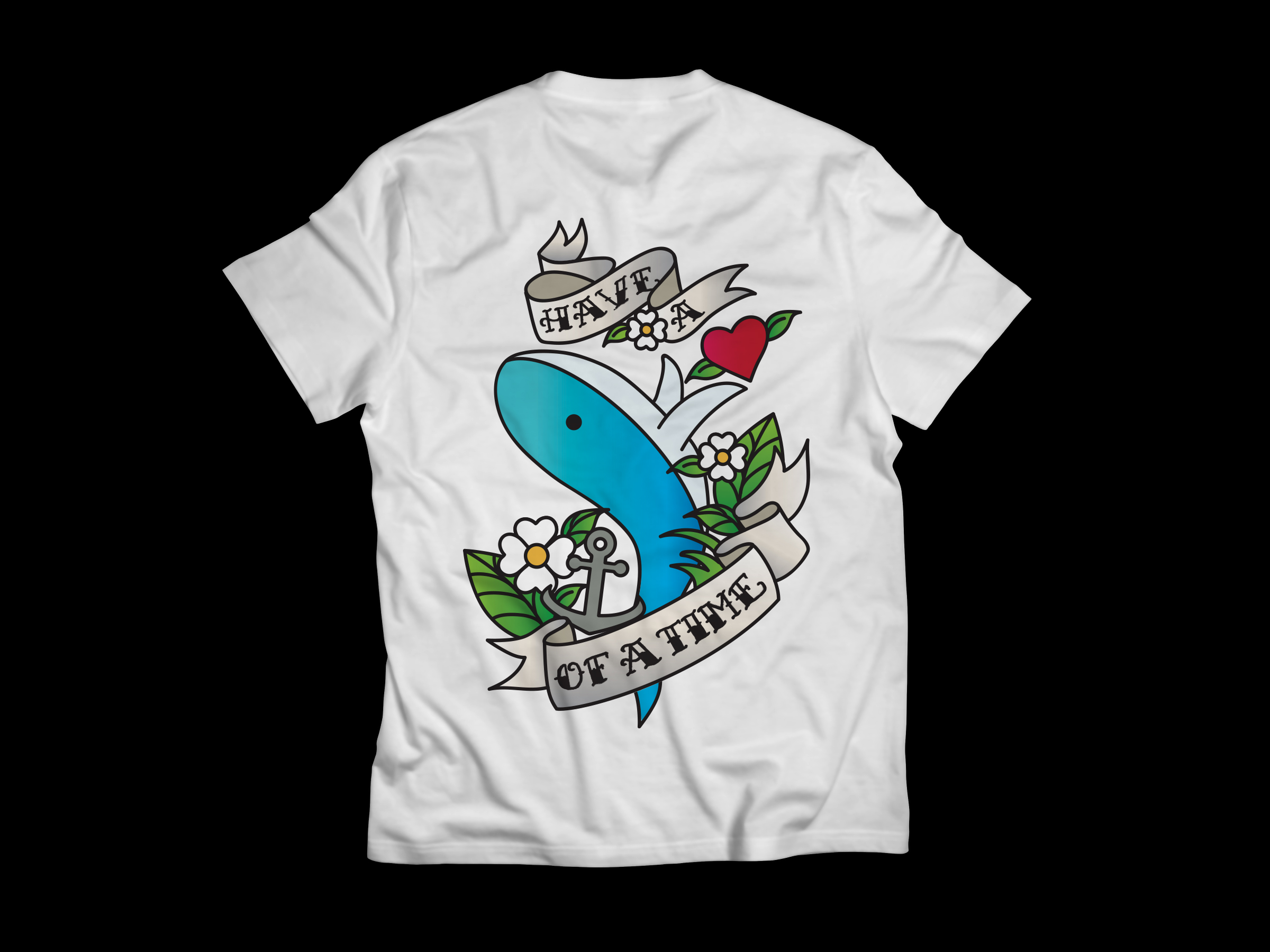 Design t shirt school - Use Of Old School Tattoo Style To Create A New T Shirt Design