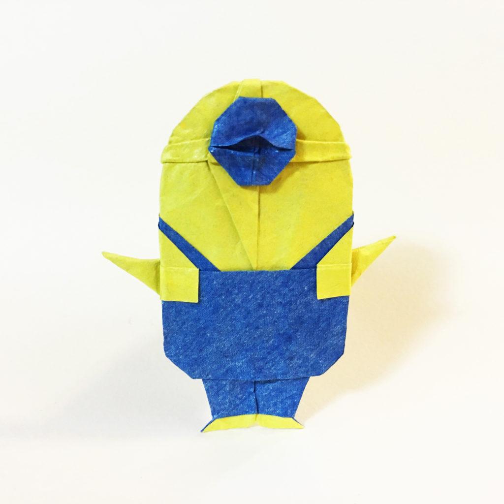 Minion Origami Dollar Bill