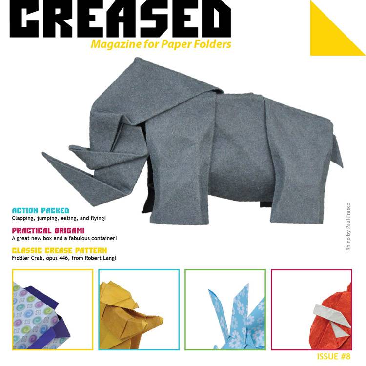 Book Cover: Creased Magazine Issue 8