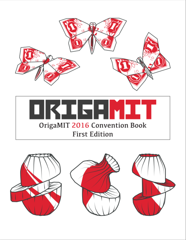 Book Cover: OrigaMIT 2016 Convention Book